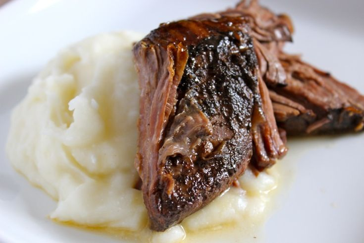 Slow Cooker Balsamic Pot Roast - The Chic Site
