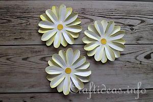 Paper Daisy Tutorial 8