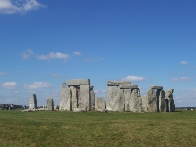 A fine henge of stone.