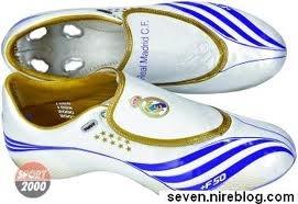 Botas de fútbol del Real Madrid C.F