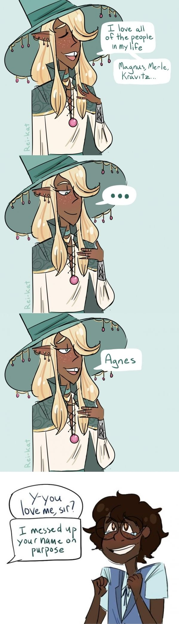 The Adventure Zone - Taako and Angus