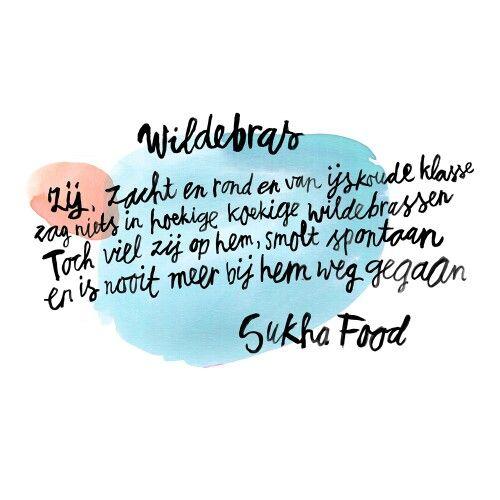 Poem by Sukha Amsterdam