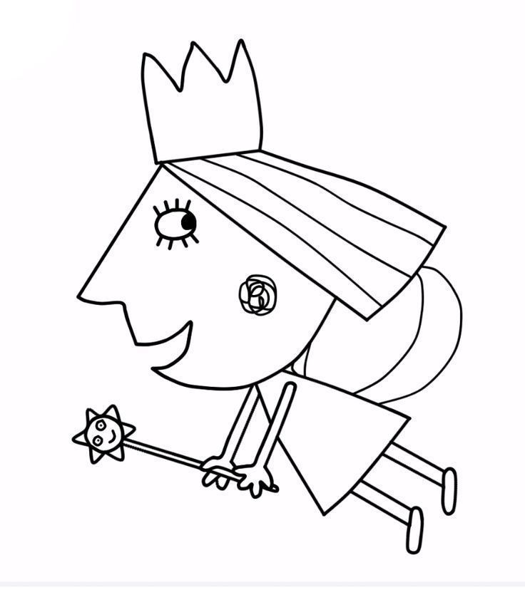 Image Result For Ben And Holly Coloring Pages Pdf Poppy Coloring