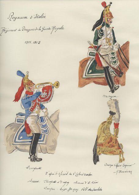 Dragoni della guardia reale del regno d'Italia