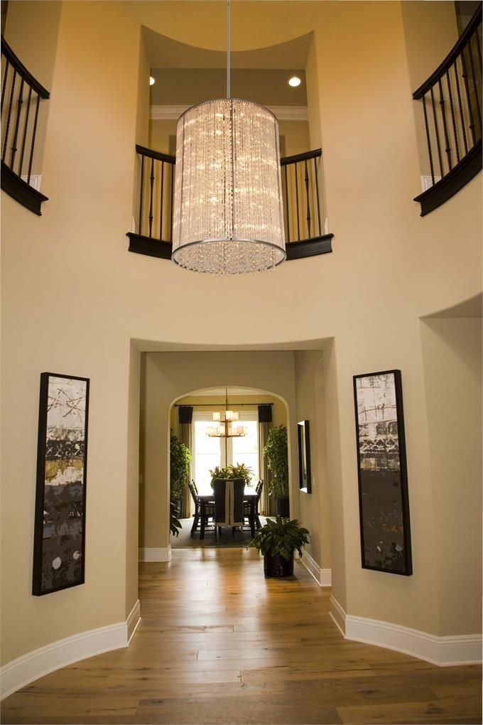 Large Foyer Fixture : Large foyer lighting light small black