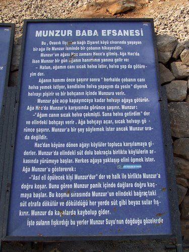 Munzur Baba Efsanesi