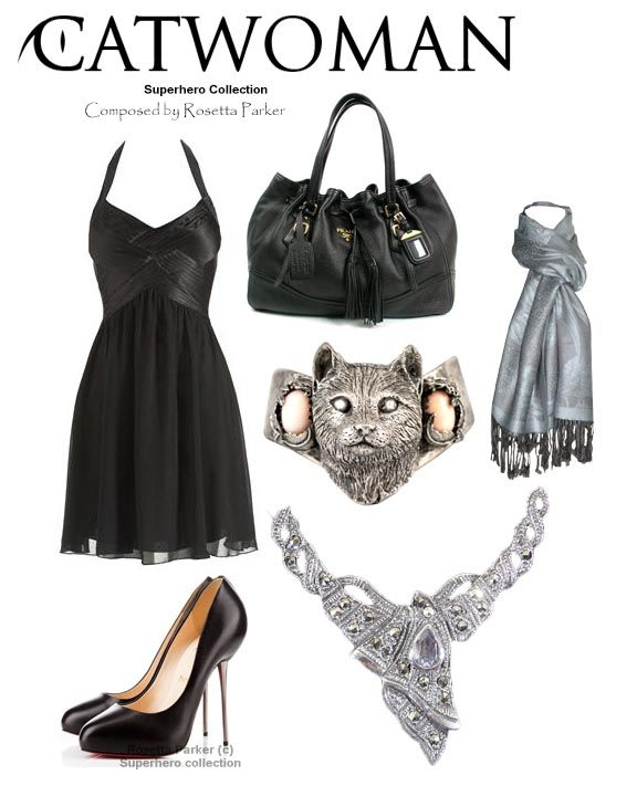 Catwoman outfit - Evening - Put together by Rosetta Parker