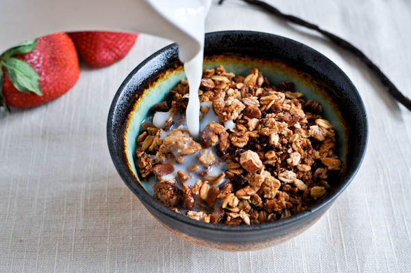 Strawberry Almond Granola