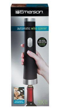 Emerson Electric Wine Opener Metal Rubber 16413350042 Garden Lawn Maintenance -- Be sure to check out this awesome product.