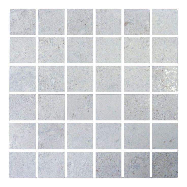 Grey Floor Kitchen Tiles