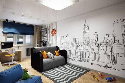 Детская комната для подростка. Детская
