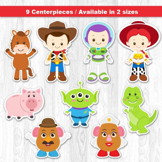 Toy Story Centerpiece Toy Story Table Centerpiece Toy by KidzParty