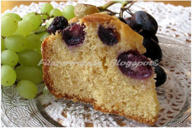 Fűszermánia: Szüreti sütemény szőlővel és olivaolajjal