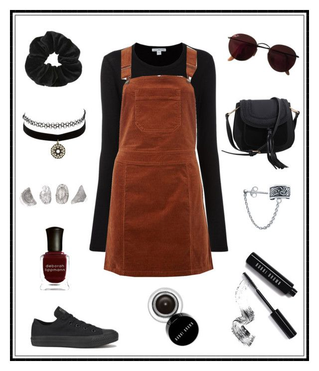 """#154"" by e-elmedal on Polyvore featuring James Perse, Dorothy Perkins, Miss Selfridge, Ray-Ban, Charlotte Russe, Converse, Deborah Lippmann, Bobbi Brown Cosmetics, MKF Collection and Bling Jewelry"