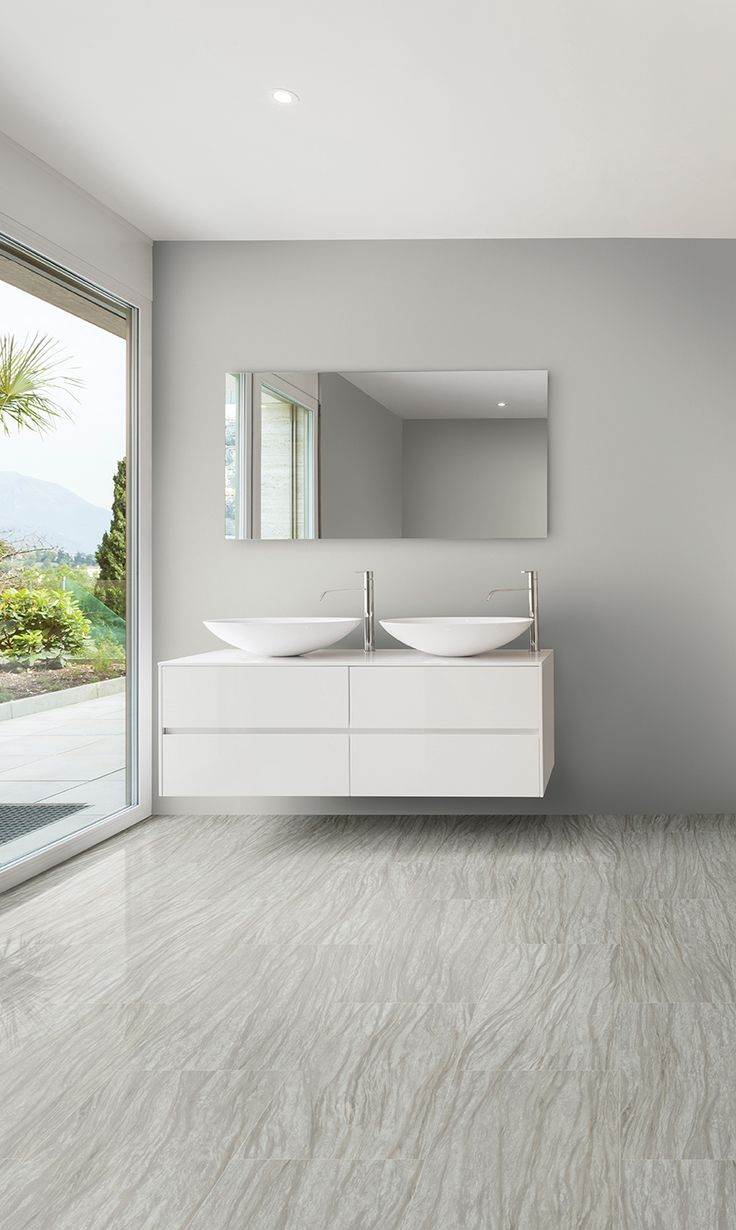 Want The Look Of Tile Without The Chill And Hassle? Metroflor Konecto  Sierra Tile Is The Perfect Solution! With Its Pleasing Palette Of Neutral  Gray Tones, ...