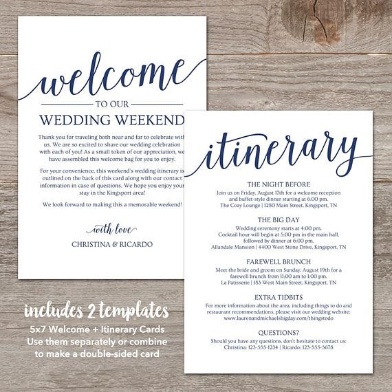 25+ parasta ideaa Pinterestissä Wedding itinerary template - itinerary template
