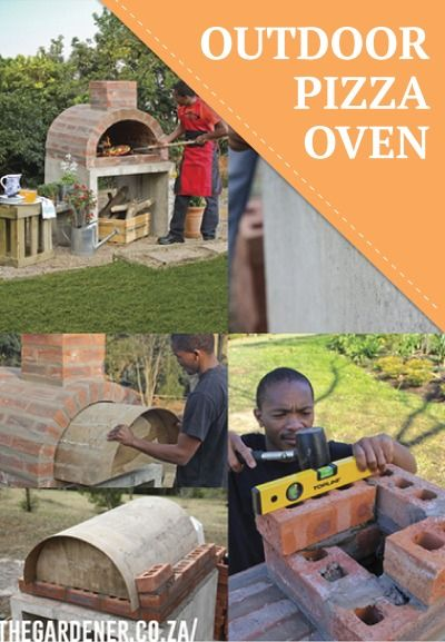 Love pizza? Make your own DIY pizza oven in your backyard.
