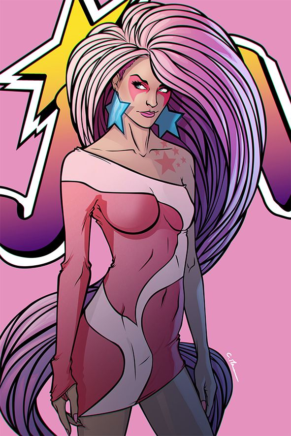 Jem & the Holograms is Back from the 80′s - Chris Panda