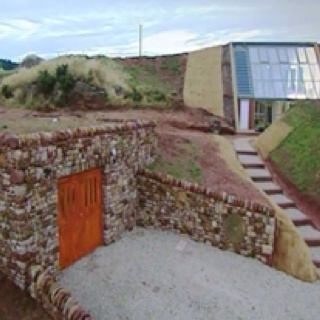 smartness underground home designs. Cumbria Underground House  UK The completed exterior showing how the house has literally been built into hillside 55 best underground homes images on Pinterest