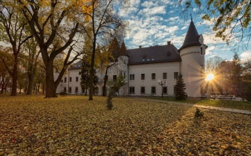 The Károlyi castle in Carei, near Satu Mare and the border with Hungary