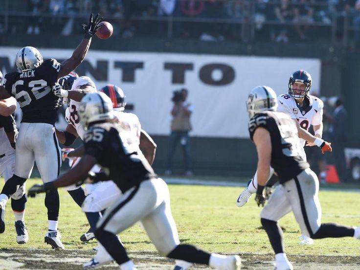 Khalil Mack and Peyton Manning - Broncos vs Raiders (11/9/14)
