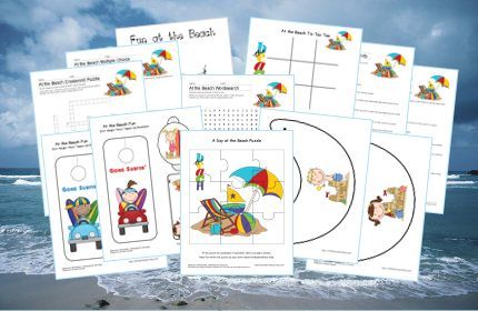 Fun at the Beach Printables