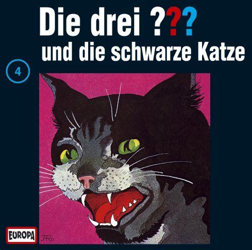 """Die drei Fragezeichen 4: Die schwarze Katze (German audio drama based on """"The Three Detectives"""")"""