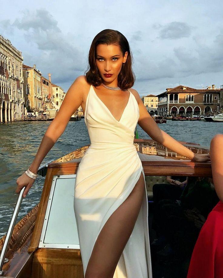 10 Einzigartige schöne Frisuren von Bella Hadid