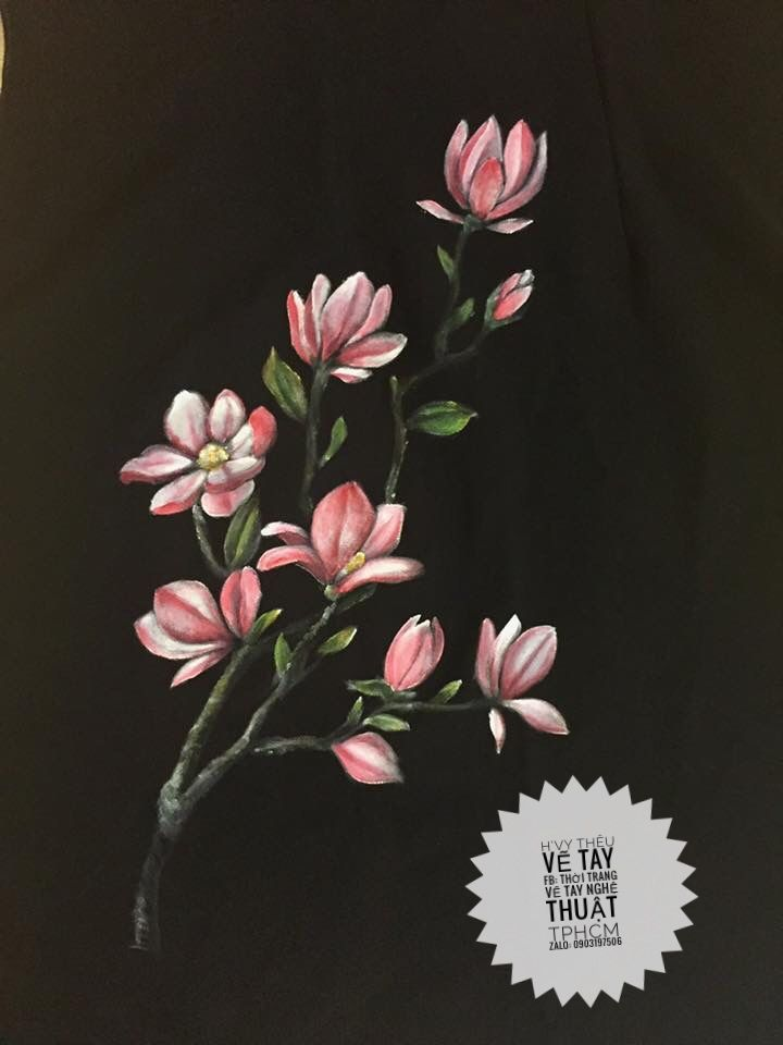 9ceaf61a Pin by Ha on MẪU VẼ ÁO | Fabric Painting, Acrylic painting images, Fabric  art