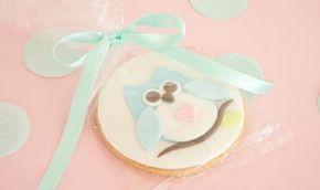 Galletas decoradas con fondant paso a paso - Galletas con forma de búho - Galletas para regalar - Decorar galletas con fondant - Receta de galletas decoradas