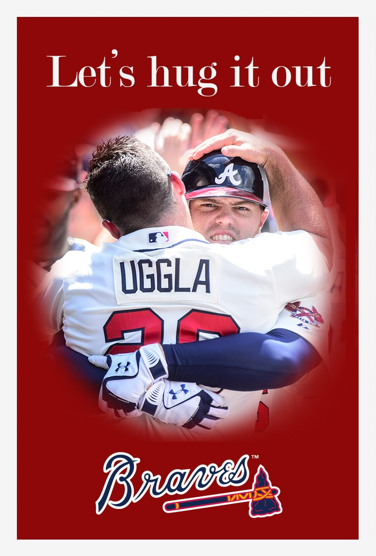 Hug It Out Freeman And Uggla Style This Valentineu0027s Day.
