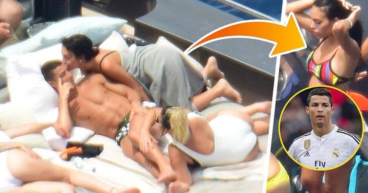Capturamos a la despampanante novia de Cristiano Ronaldo con su heredero en camino https://link.crwd.fr/aZ4