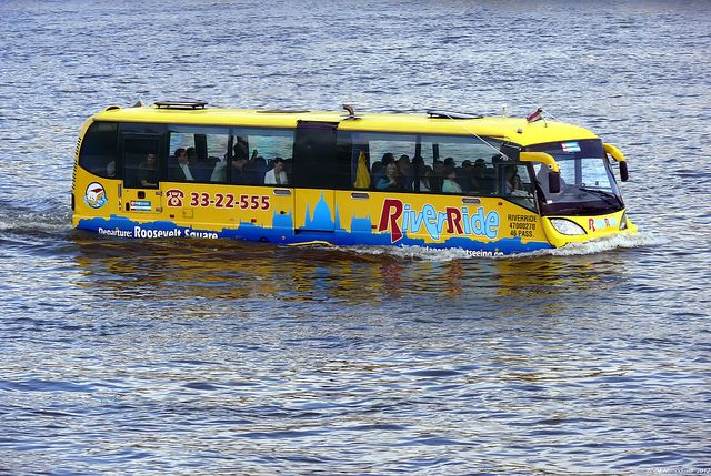 Amphibious Bus In Budapest | Flickr - Photo Sharing!