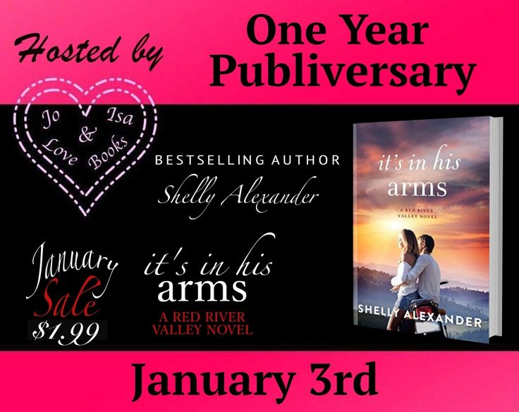 I Love Romance: PUBLIVERSARY SALE: IT'S IN HIS ARMS (RED RIVER VAL...