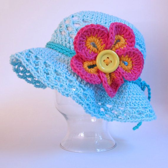 Free Crochet Pattern For Childs Owl Hat : 17 Best ideas about Crochet Sun Hats on Pinterest ...