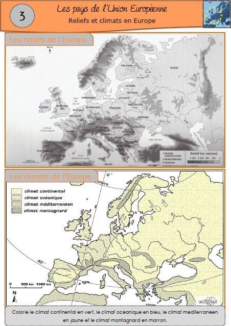 Une séquence sur les pays de l'Union Européenne