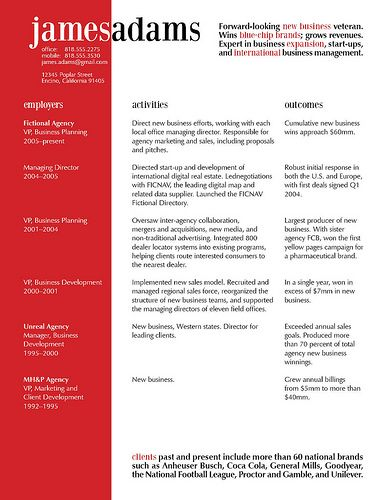 Liczba najlepszych obrazów na temat Résumés \ CVs na Pintereście - resume layout ideas