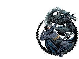 Resultat d'imatges de batman vs alien