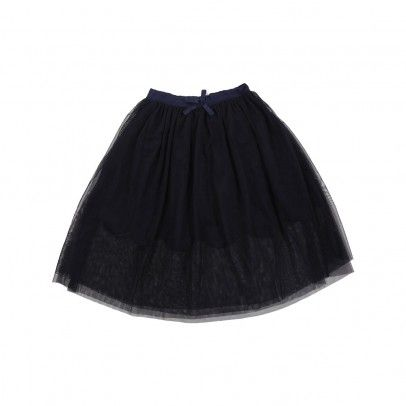 Amalie tuille skirt Midnight blue  Stella McCartney