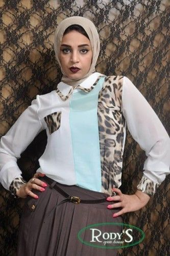 Casual wear for veiled woman by Rody's fashion   Just Trendy Girls