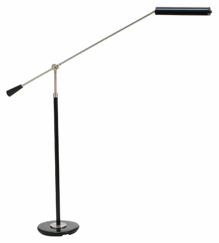 House of Troy PFLED-527 Grand Piano LED 26 to 54 Inch Tall Transitional Piano Floor Lamp - HOT-PFLED-527