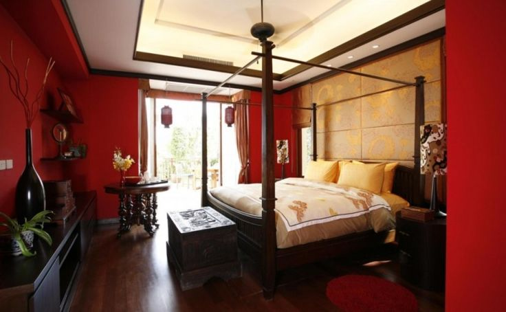 Best 25+ Red Bedrooms Ideas On Pinterest