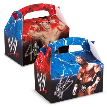 WWE Party | Treat Boxes