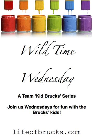 Wild Time Wednesday: Powers Out- A Kid Team Brucks' Series