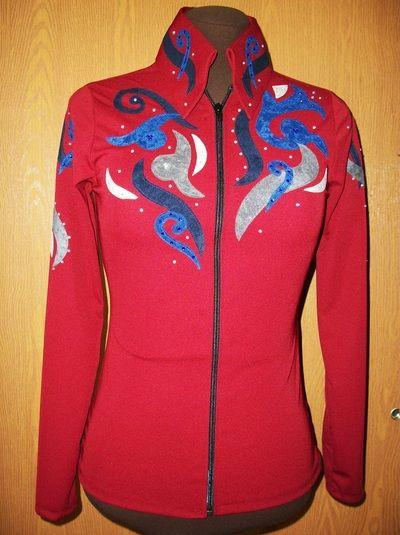 western_horse_show_clothes -  gypsy girl western show wear