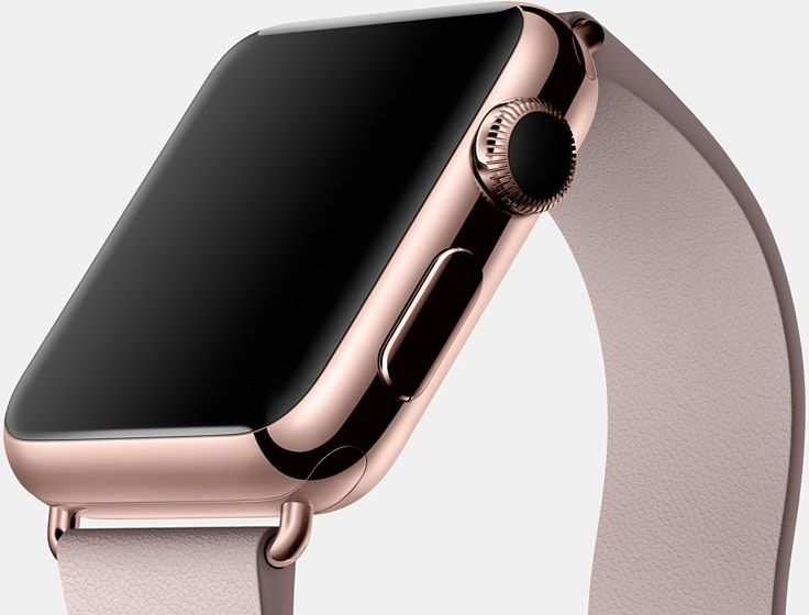 Apple Watch, rose gold edition #Mar2015