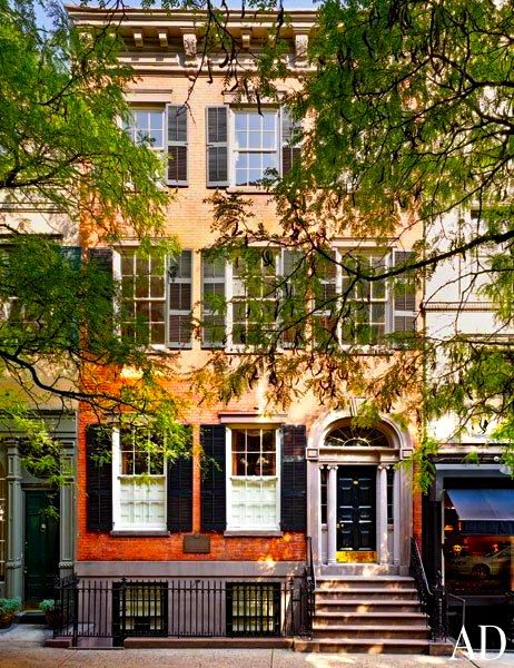 527 best images about the townhouse on pinterest nyc for Townhouse exterior