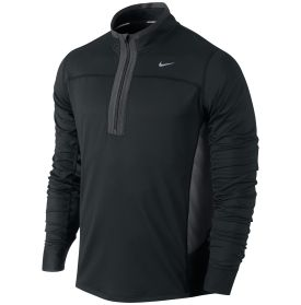 Nike Men's Technical Half-Zip Running Shirt - Dick's Sporting Goods BLACK SIZE LARGE
