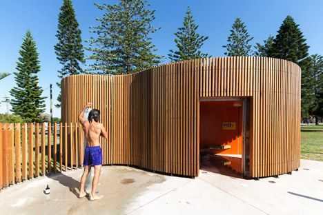 Fox Johnston enlivens Sydney beachfront with curvy Cook Park Amenities