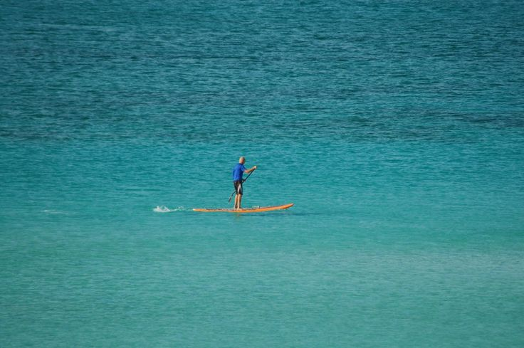 Relaxing Paddle Surf
